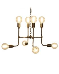 Matrix Pendant Light - Antique Brass Finish