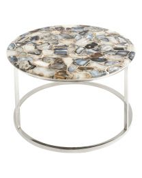 Agate Round Coffee Table