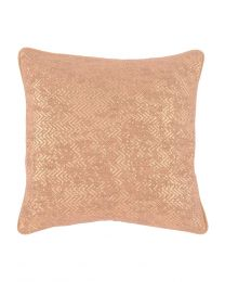 Metallic Blush Cushion 45X45Cm