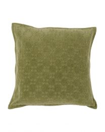 Monsoon Grass Green Cushion 45X45Cm