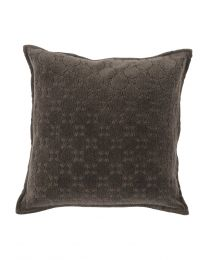 Monsoon Charcoal Grey Cushion 45X45Cm