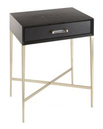 Rv Astley Dana Black Side Table