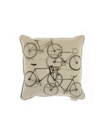 BICYCLES CUSHION 43cm x 43cm
