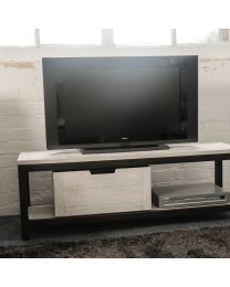 Lowick Tv Unit With Moveable Drawer Section