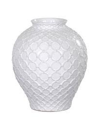 Large Rings Pattern Vase