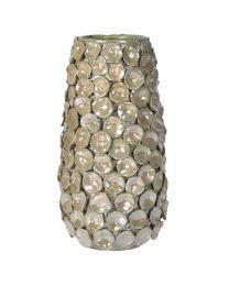 Large Handmade Textured Petal Vase