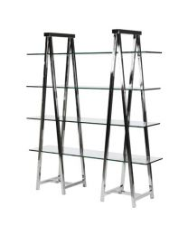 Terano Double Display Trestle Shelving Unit