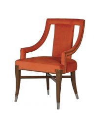 Orange Cut Out Dining Chair