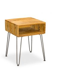 Belsay Retro Hairpin Side Table