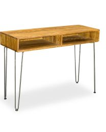 Belsay Retro Hairpin Console Table