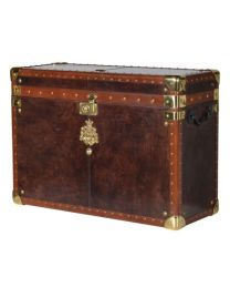 Leather/Brass Trunk