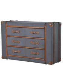 6 Drawer Fabric Trunk