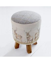 Moorland Stag Monty Stool