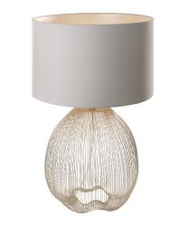 RV Astley Abree, Gold Wire Table Lamp