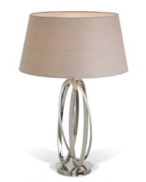 RV Astley Akira Nickel Twist Table Lamp