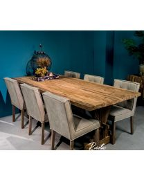 Rustic Teak Wood Dining Table