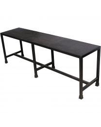Moretti Black Italian Slate Bench