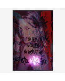 Andrew Martin Neon - Kate Moss Still Loves
