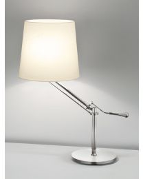 Chelsom Angle Table Lamp Brushed Nickel
