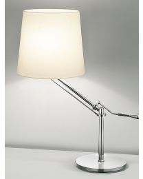 Chelsom Angle Table Lamp Polished Chrome