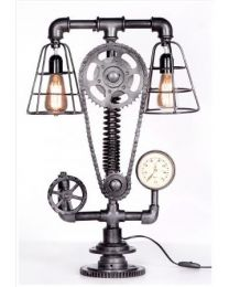 Cogged Table Lamp