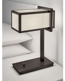 Chelsom Chelsea Table Lamp In Black Bronze