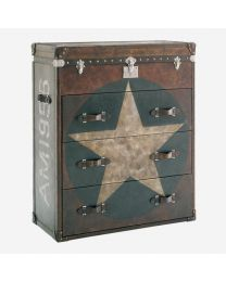 Andrew Martin Star Chest Of Drawers