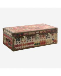 Andrew Martin Kilim Trunk Coffee Table