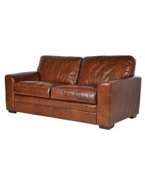 Gladstone Leather Sofa Bed