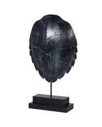 Black Turtle Shell Deco