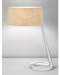 Chelsom Exec Table Lamp Polished Chrome