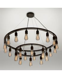 Chelsom Custom Filament Ceiling Light