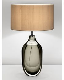 Chelsom Glass Sculpture Table Lamp