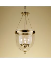 Chelsom Kensington Lantern In Polished Brass