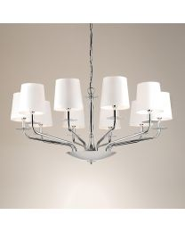 Chelsom London Ceiling Light In Polished Chrome