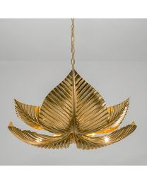 Chelsom Palm Ceiling Light Large