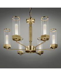 Chelsom Regent Ceiling Light In English Brass
