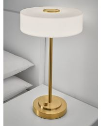 Chelsom Richmond Table Lamp In Brushed Brass