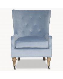 Norton Light Blue Arm Chair