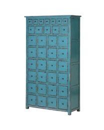 36 Drawer Blue Cabinet