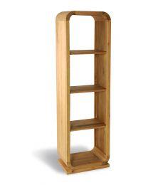 Greystead Oak Open Back Shelf Unit 3 Shelves