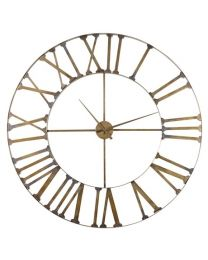 X-Large Metal Wall Clock
