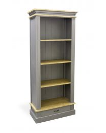 Corbridge Storm Grey Bookcase