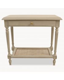 Wilton Grey Side Table With Drawer