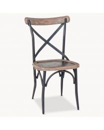 Woodcroft Cross Back Dining Chair
