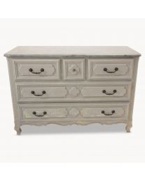 Woodcroft French Commode With Stone Top