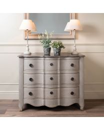 Woodcroft Stone Top Chest Of Drawers