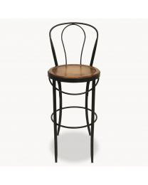 Woodcroft Metal Bistro Bar Chair