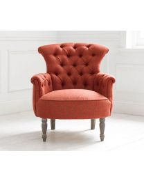 Elsie Arran Salsa Buttoned Back Chair
