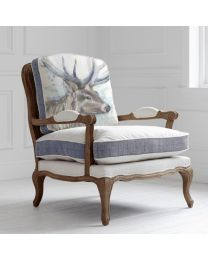 Florence Buck Oak Chair